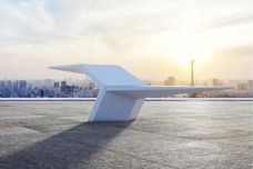 Concrete urban furniture from Altiform