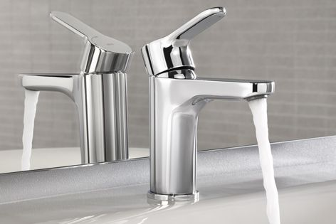 The Roca L20 basin mixer is contemporary, sustainable and smart.