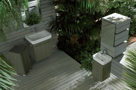 Roca's Dama Senso Square range offers timeless design and practicality.