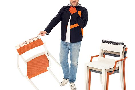 Philippe Starck with the Play range.