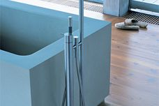 Vola FS1 floor-mounted bath mixer