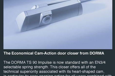 DORMA TS 90 For lightness of touch