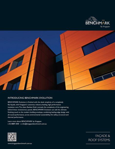 Benchmark Evolution facade from Kingspan