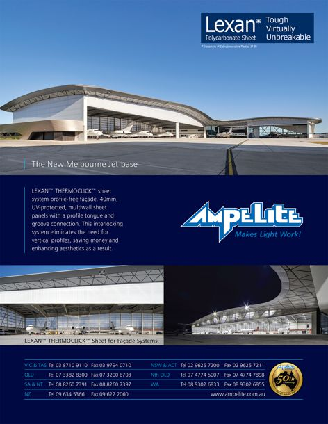 Lexan polycarbonate sheeting by Ampelite