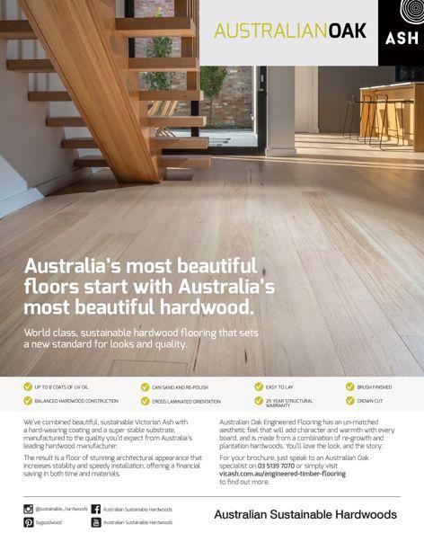 Oak by Australian Sustainable Hardwoods