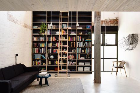 Fitzroy Loft by Architects EAT, winner of a Residential Design Award. Photography: Derek Swalwell.