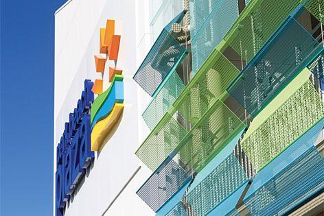 Atmosphere facade by Locker Group