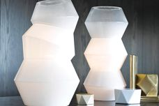 Deka and Facet table lamps from Beacon Lighting