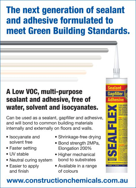 Sealflex sealant from Construction Chemicals
