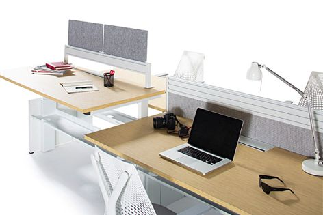 The Abak Exchange from Herman Miller encourages movement and versatility in the workplace.