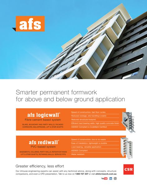 Logicwall and Rediwall by CSR AFS