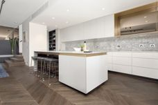 Seamless chevron parquetry from Plank Floors