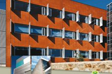 Terracade terracotta facade systems