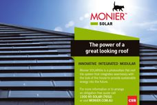 Monier SOLARtile from CSR Bricks & Roofing