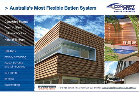 Concept Click flexible batten system
