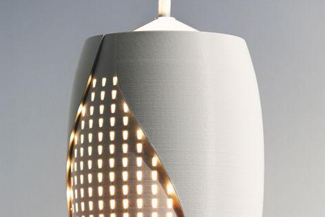 Matrix LED pendant lights by LimeLite