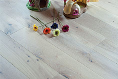The new flooring range from Trojan Timbers can have a matt, satin or gloss finish.