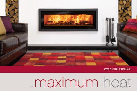 Riva Studio fireplace by Castworks