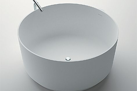 The freestanding In-Out bath is also available in sunken and built-in versions.