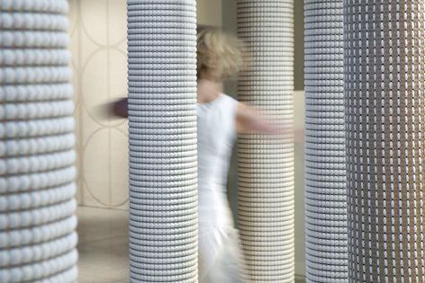 Hanna Korvela range of flat weaves is made from cotton, Tricot, moisture-resistant paper & pure wool.