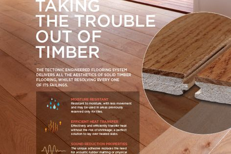 Tectonic flooring by Eco Timber Group