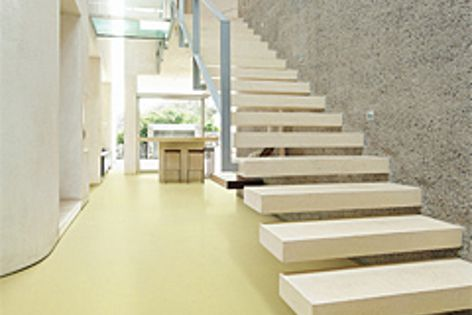 The Marmoleum Unexpected Nature flooring collection draws on nature's more unusual colours.