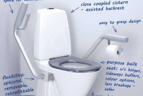 IFO toilet from Enware