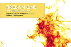 FireBan One sealant information from Bostik