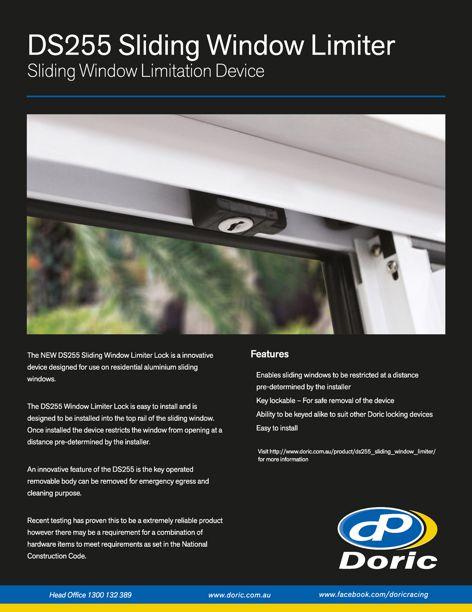DS255 Sliding Window Limiter by Doric