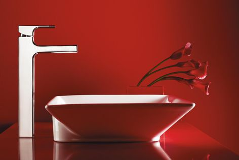 Strayt is one of Kohler's most contemporary collections of tapware and accessories.