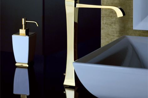 Mimi tapware collection by Gessi