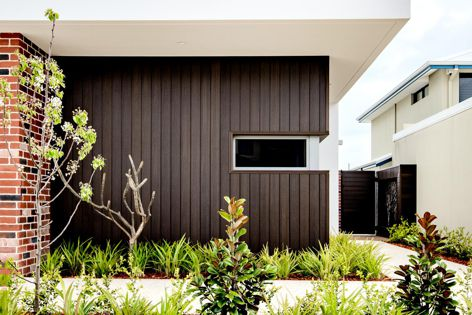 NewTechWood's advanced UltraShield technology uses recycled timber and plastics to create composite cladding boards.