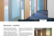 DORMA Variflex moveable walls