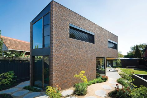 Bricks from Austral bricks can help regulate the temperature in a home and reduce energy use.