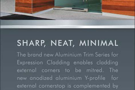 Aluminium Trim Series – sharp, neat, minimal