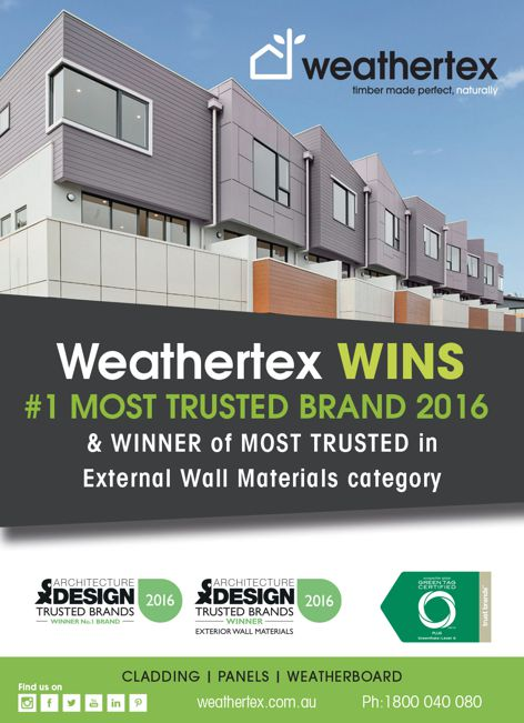 Cladding and weatherboard by Weathertex