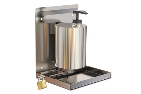 Stoddart's hand sanitizer dispensers and stands are suitable for commercial applications.