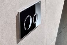 Sigma21 flush button by Geberit