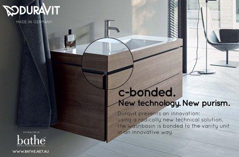 C-bonded washbasin from Bathe
