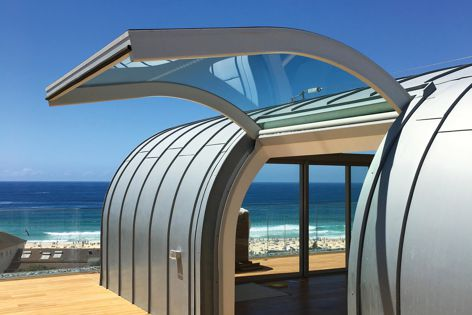 BCG's curved laminated glass fits neatly into the gull-wing doors.