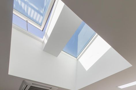 McCarthy Homes had 18 Velux skylights installed at its Brisbane head office.