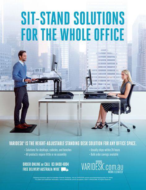 Standing desk solutions by Varidesk