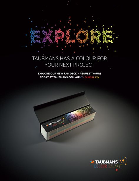 New colour fandeck from Taubmans