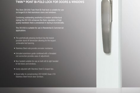 DS1250 Bi-Fold lock from Doric