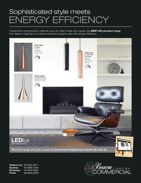 LED pendant range from Beacon Lighting
