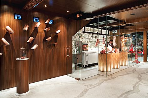 Victor Churchill Fine Family Butcher by Dreamtime Australia Design (photography: Paul Gosney).