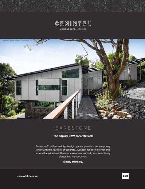 Barestone panels by CSR Cemintel
