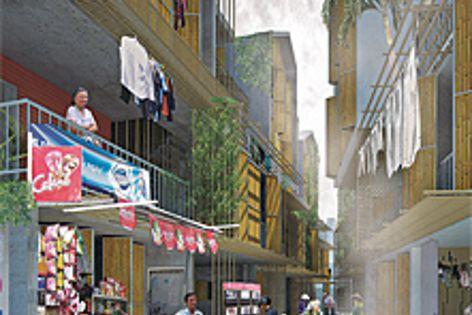 Ton Vu's Sai Gon Informal project, winner of the 2011 AA Prize for Unbuilt Work.