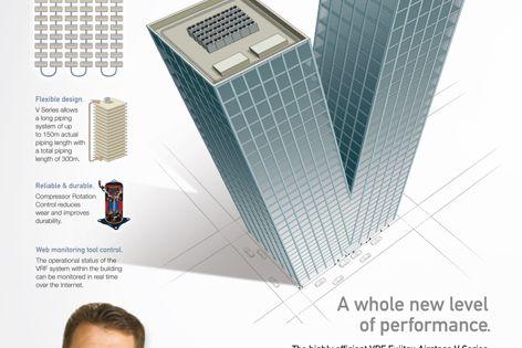 VRF Fujitsu Airstage V Series airconditioning