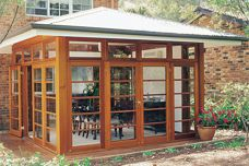 Western red cedar windows